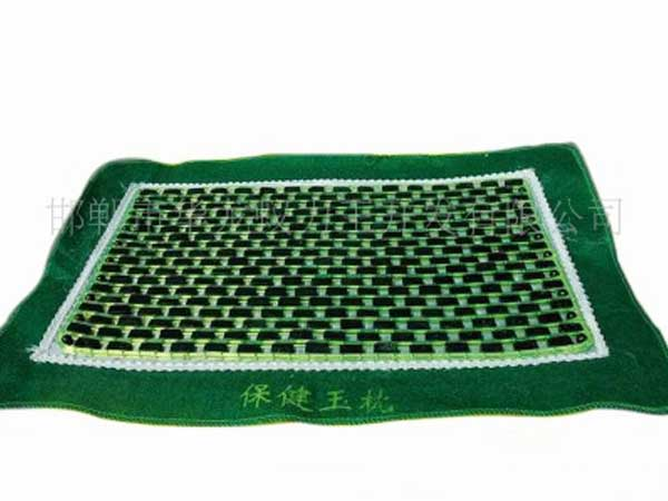 Dark green jade jade pillow sedative